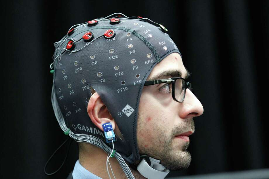 JWT predicts brain-computer interfaces will push further into the commercial mainstream next year. Photo: Jose Luis Magana, FRE / FR159526 AP