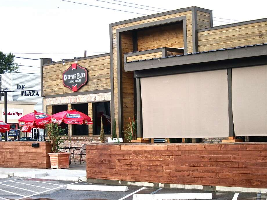 The facade of the Chopping Block restaurant on Washington Avenue. Photo: Alison Cook, Houston Chronicle