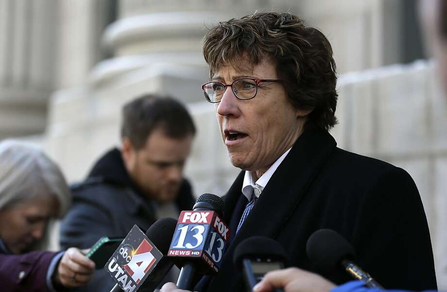 Attorney Peggy Tomsic criticizes the state's arguments as false. Photo: Rick Bowmer, Associated Press