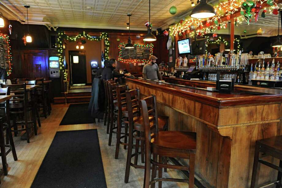Bar area of Finnbar's at 452 Broadway on Thursday, Dec. 26, 2013 in Troy, N.Y. (Lori Van Buren / Times Union) Photo: Lori Van Buren / 00025169A