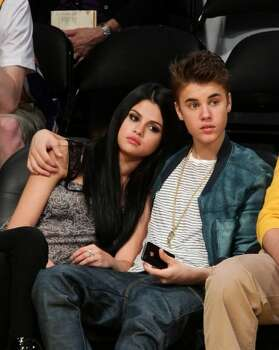 She and Canadian pop star Justin Bieber have a highly-publicized off-again, on-again  relationship.