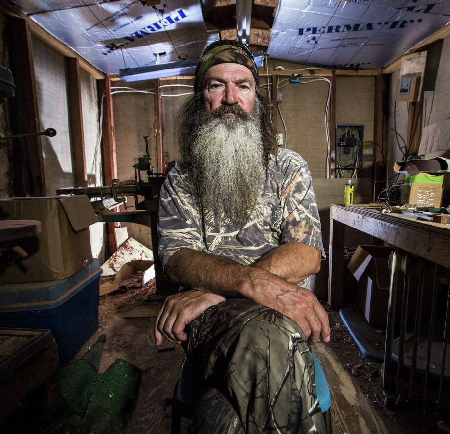 "The A&E network decided to lift the suspension of Phil Roberton, the patriarch of the popular series ""Duck Dynasty,"" for his comments about gay people. But, as readers indicate, the controversy is far from over. Photo: A&E / A&E"