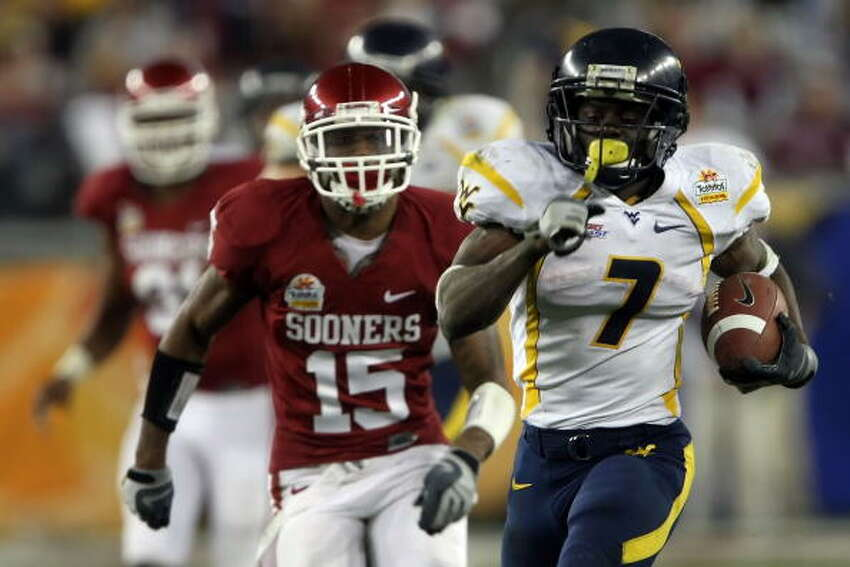 2007: Oklahoma lost to West Virginia in the Fiesta Bowl, 48-28.