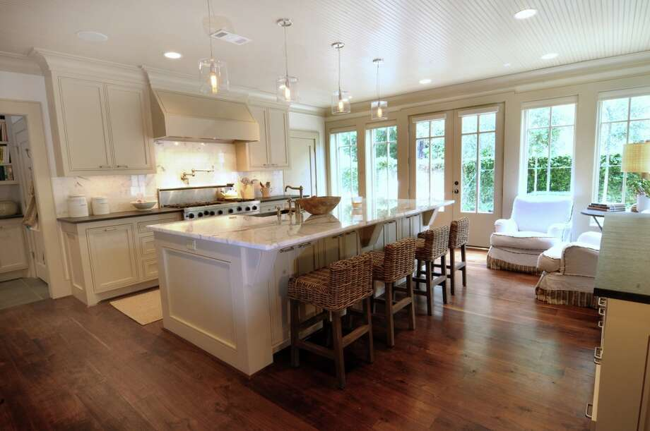 This kitchen was remodeled by Greymark Construction.