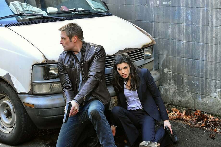 "Josh Holloway and Meghan Ory star in the spy drama ""Intelligence"" on CBS. Photo: Chris Helcermanas-Benge"