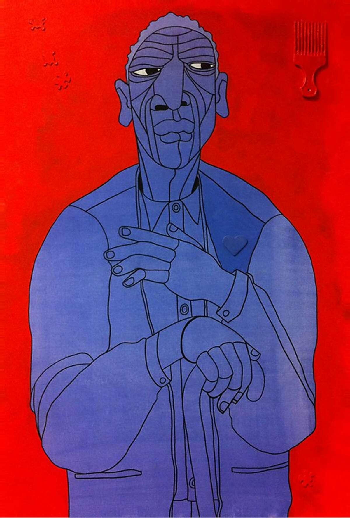 "Ajuan Mance, ""1001 Black Men #536: The Mayor of Bancroft Ave"""