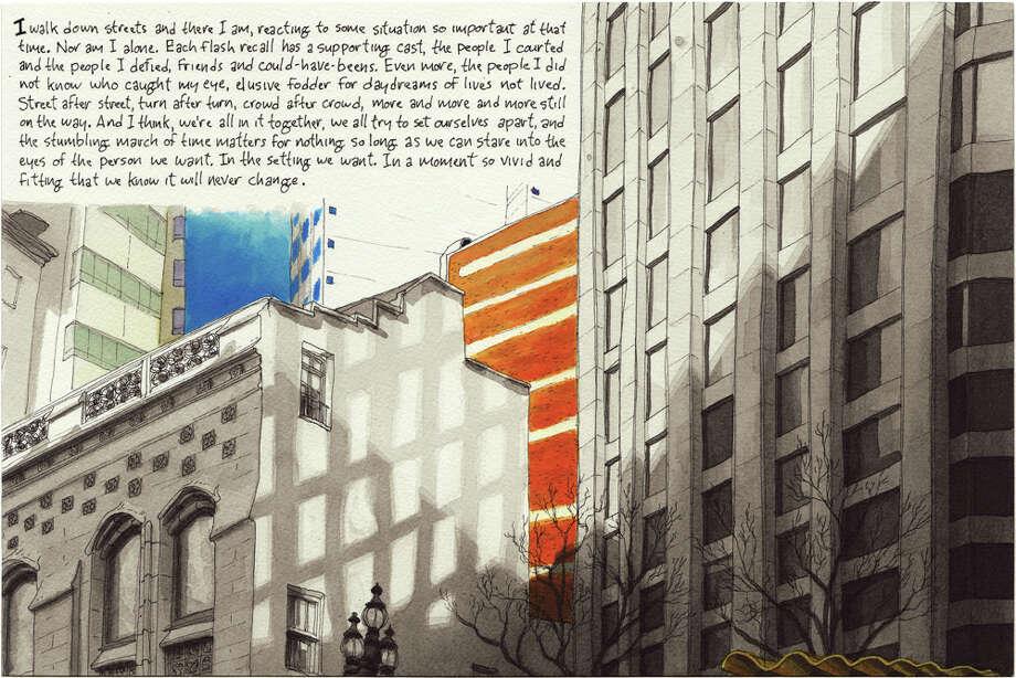January 5, 2014 Written by Chronicle columnist John King; Drawn from Market Street, San  Francisco Photo: Paul Madonna