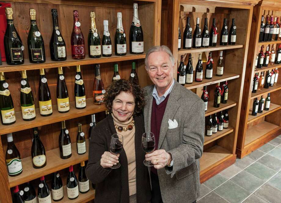 Tim Smith and Phyllis Adatto, co-owners of French Country Wines, added a wholesale manager to their business this year. Photo: Craig Hartley, Freelance / Copyright: Craig H. Hartley