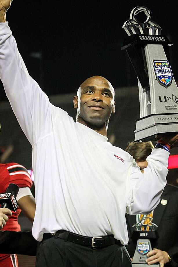 Texas is expected to name Charlie Strong coach Sunday. Photo: Joshua C. Cruey, McClatchy-Tribune News Service