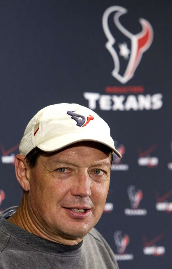 Rick Dennison (offensive coordinator) Photo: Brett Coomer, Houston Chronicle