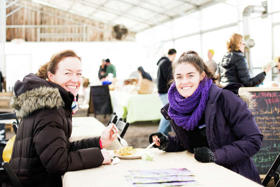 Were you seen at the first Westport's Winter Farmers Market of the year? Photo: Andrew Merrill