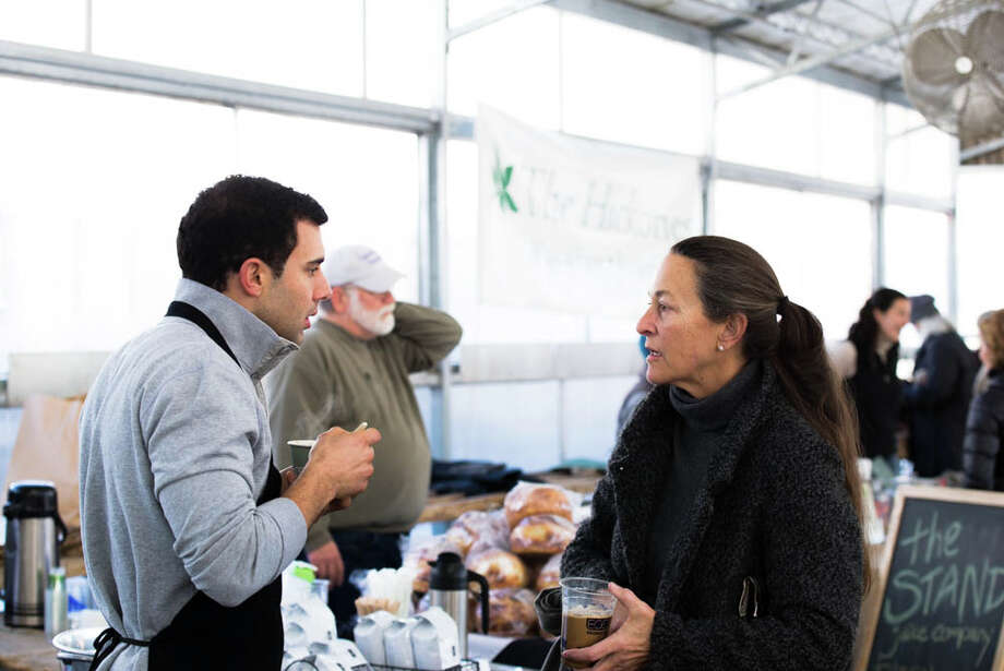 Were you SEEN buying local at the first Westport Winter Market of 2014? Photo: Andrew Merrill