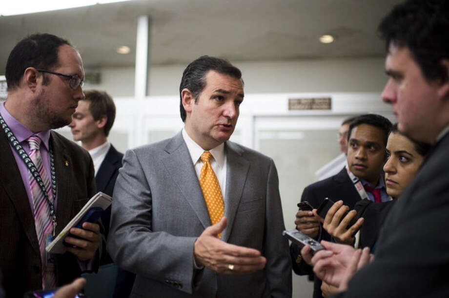 Ted Cruz ranks as the 9th most admired man of 2013, having been named by 1 percent of respondents. Photo: Bill Clark, Getty Images / © 2013 CQ Roll Call