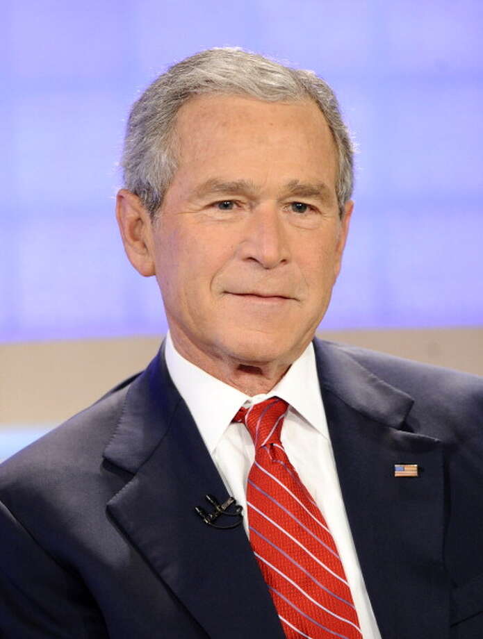 President George W. Bush checks in as the 2nd most admired man of 2013. He was named by 4 percent of poll respondents.  Photo: NBC NewsWire, Getty Images / 2012 NBCUniversal, Inc.