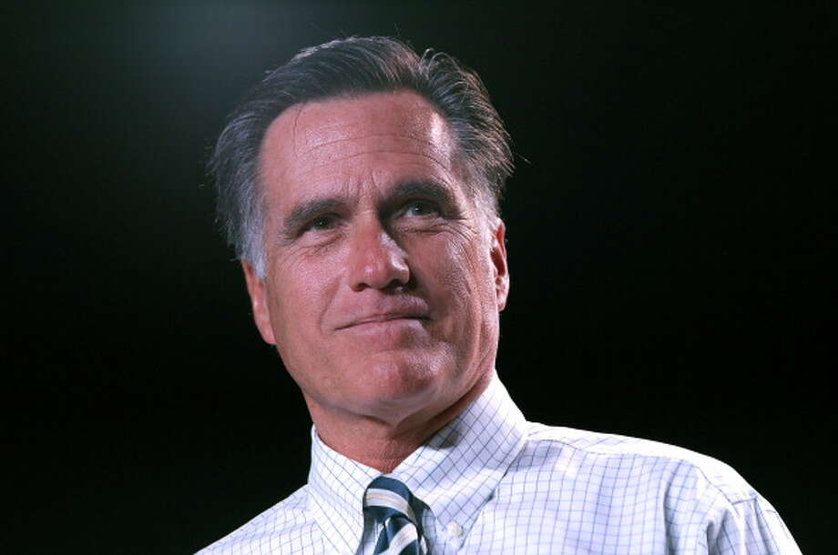 Last month, Gallup Inc. asked Americans to name the men and women they admire the most. One percent of respondents named Mitt Romney, making the former Massachusetts governor and 2012 presidential candidate the 10th most admired man of 2013. Photo: Justin Sullivan, Getty Images / 2012 Getty Images