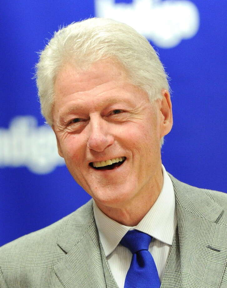 President Bill Clinton is the 4th most admired man of 2013, his 22nd appearance on the list. He was named by 2 percent of respondents. Photo: George Pimentel, Getty Images / 2011 George Pimentel