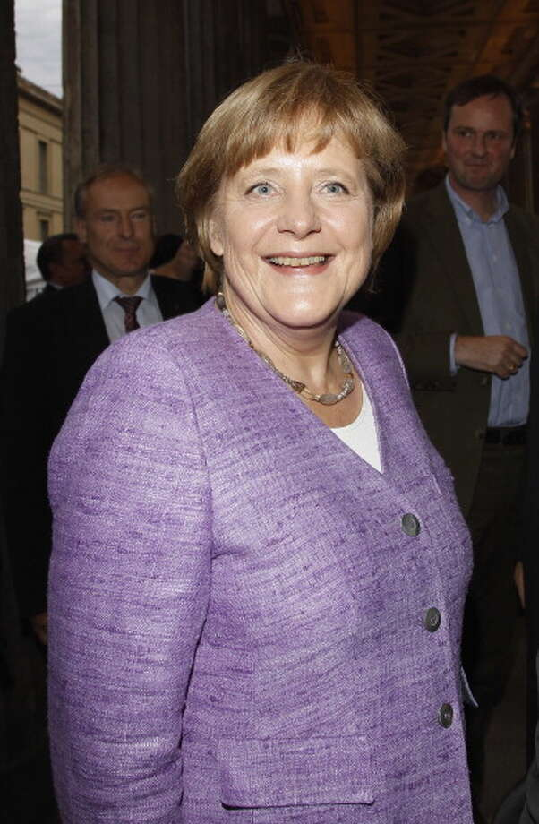 Angela Merkel comes in as the 7th most admired woman of 2013, having been named by 1 percent of poll respondents. Photo: Andreas Rentz, Getty Images / 2012 Getty Images