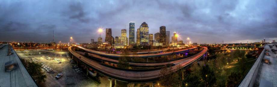 Houston's skyline Photo: Michael Paulsen, Staff / © 2013 Houston Chronicle
