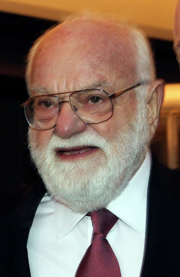 """FILE - In this March 23, 2006 file photo, Lord of the Rings producer Saul Zaentz arrives for the premiere of the the theater production in Toronto.  Zaentz, a music producer whose second career as a filmmaker brought him best-picture Academy Awards for """"One Flew Over the Cuckoo's Nest,"""" """"Amadeus"""" and """"The English Patient,"""" died Friday, Jan. 4, 2014 in San Francisco. He was 92.(AP Photo/The Canadian Press, Frank Gunn, file) ORG XMIT: LA101 Photo: FRANK GUNN / The Canadian Press"""