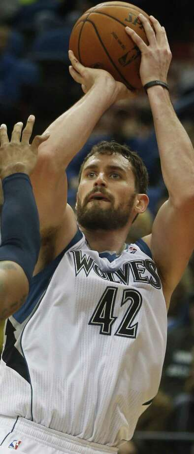 Kevin Love, second in the league in rebounding, will be in the All-Star game. Photo: Richard Tsong-Taatarii / MCT / Minneapolis Star Tribune