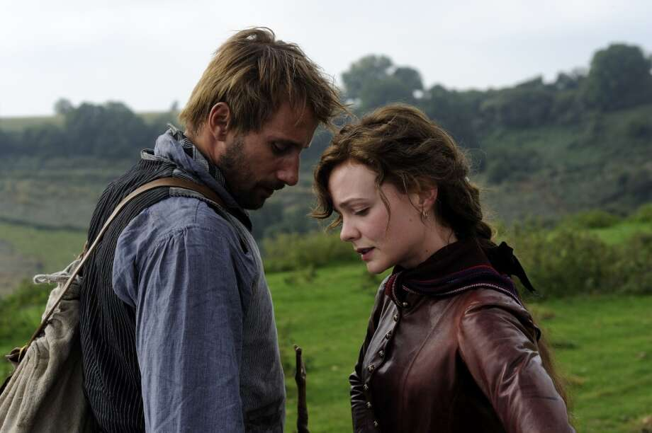"Carey Mulligan (right) stars in the latest adaptation of Thomas Hardy's ""Far From the Madding Crowd,"" expected to draw new attention to Dorset after its release later this year. Photo: DNA Films / Fox Searchlight Pictures"