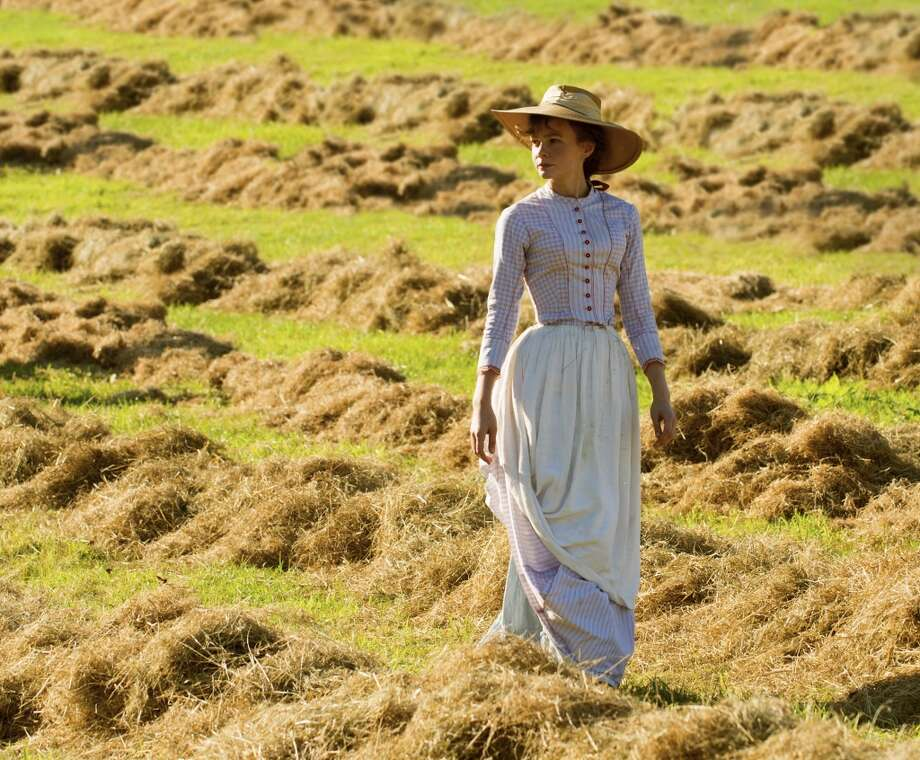 "Carey Mulligan stars as Bathsheba Everdene in ""Far From the Madding Crowd,"" based on one of Thomas Hardy's novels  inspired by the Dorset countryside. Photo: Alex Bailey"