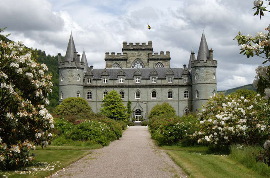"Zicasso's customizable ""Downton Abbey"" tours include an optional two-day extension to Inveraray Castle in Argyll, Scotland, which appeared as ""Duneagle"" in the third season's Christmas episode/finale. Photo: Courtesy Zicasso.com"