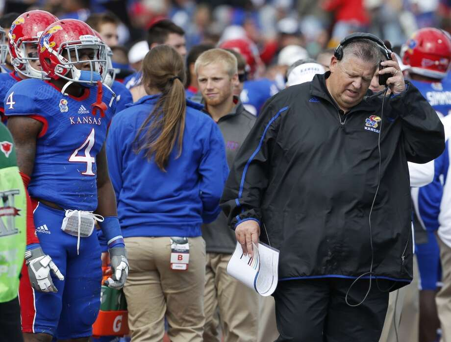 Sept. 27 - Kansas at Lawrence, Kan. Time - TBA Photo: Orlin Wagner, Associated Press