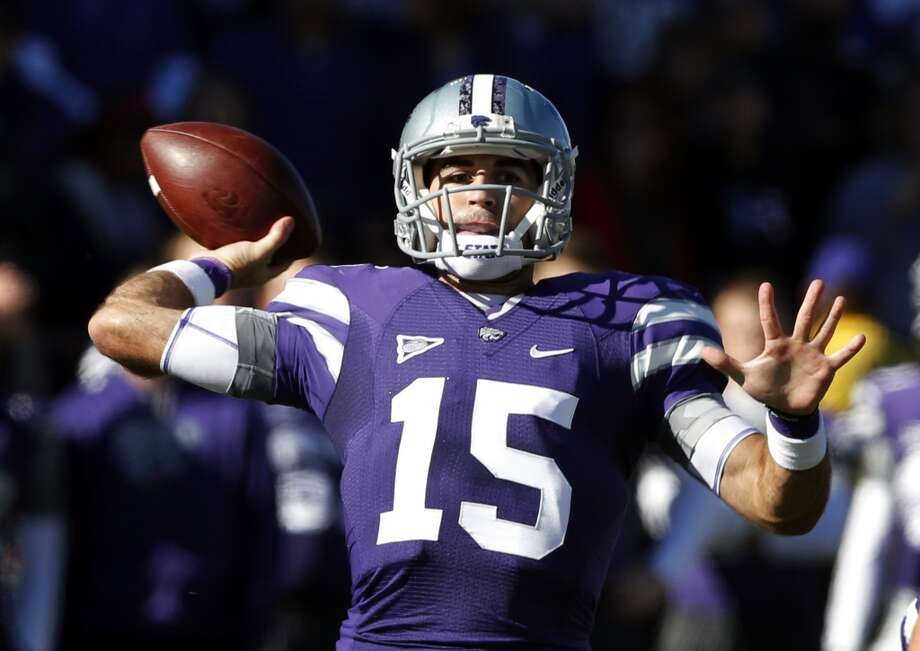Oct. 25 - Kansas State at Manhattan, Kan. Time - TBA Photo: Orlin Wagner, Associated Press