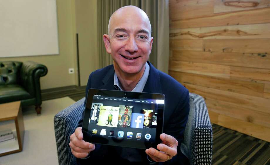 "10. Kindle, Seattle-based Amazon's tablet and e-reader brand. Score: 23.8.YouGov wrote: ""Amazon revealed its Kindle Fire HD and the 7-inch Kindle Fire HDX were its top-selling items during the holiday season."" Photo: Ted S. Warren, AP  / AP"