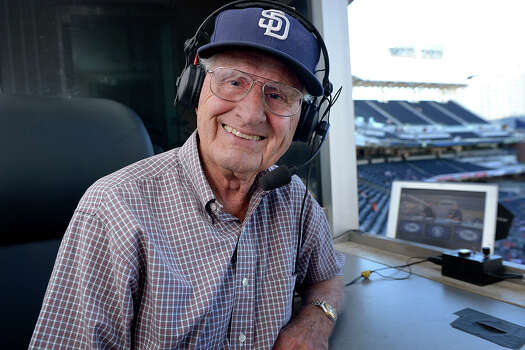Jerry Coleman, 1924-2014: The Hall of Fame radio broadcaster of the San Diego Padres, who grew up in San Francisco, died on Jan. 5 at age 89. Photo: Andy Hayt, Getty Images / 2012 Andy Hayt