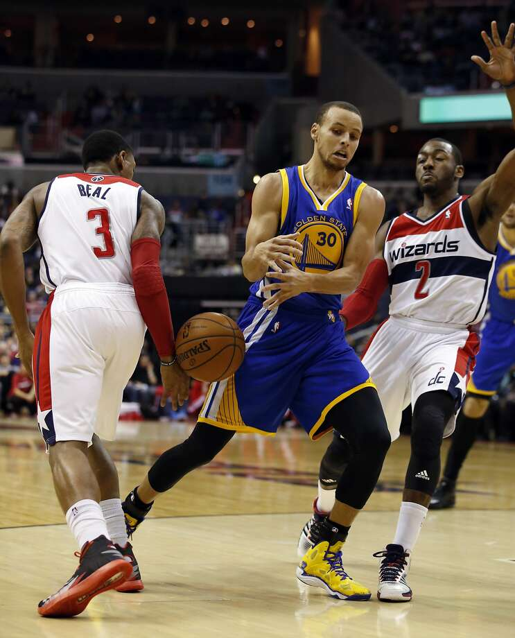 Warriors guard Stephen Curry is among the NBA's scoring leaders, but also has committed the most turnovers. Photo: Alex Brandon, Associated Press