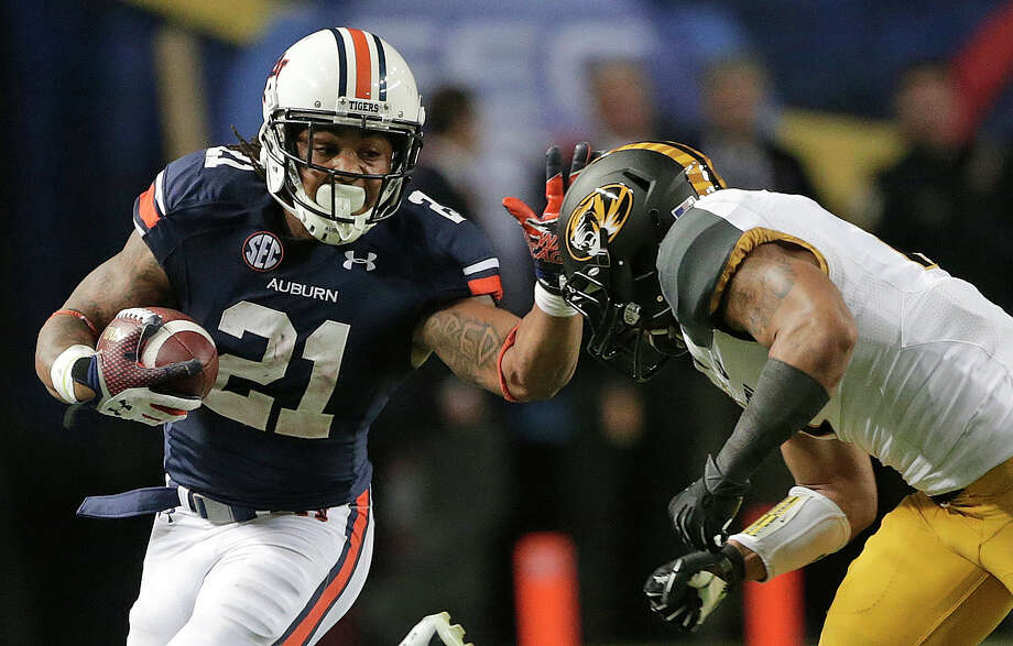 Auburn's Tre Mason is coming off a 304-yard performance in the SEC Championship Game. Photo: Dave Martin, STF / AP