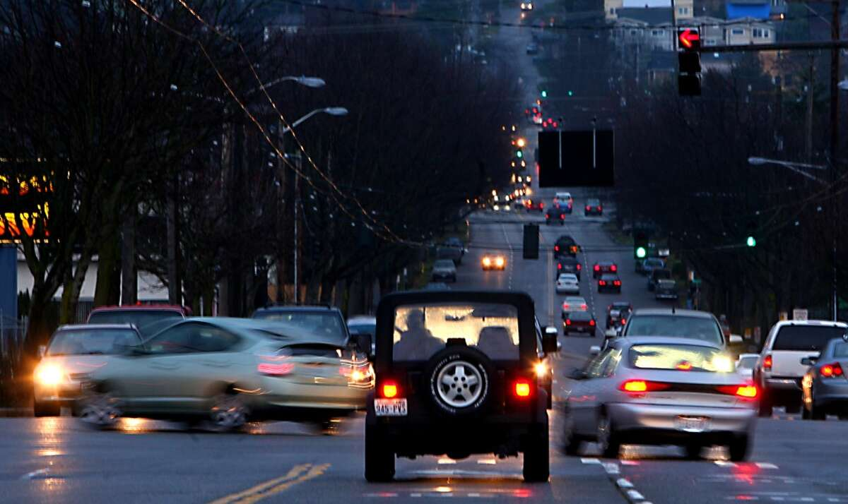 Clocking in at 25 minutes, 42 second, the average commute for Washington residents' commutes are slightly longer than the national number. Keep clicking to see King County's cities and towns ranked by commute time.