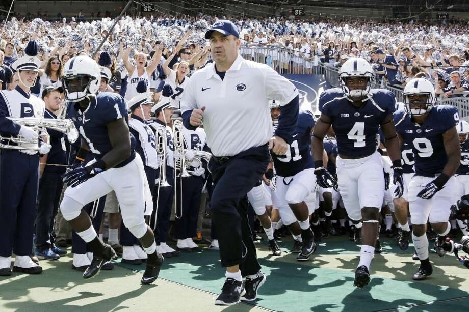 Bill O'Brien posted a 15-9 record in two seasons at Penn State. Photo: Gene J. Puskar, Associated Press