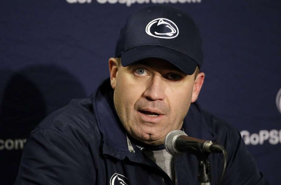 O'Brien took over the Penn State football program, which was severely hampered by NCAA sanctions following the Jerry Sandusky scandal, in 2012. Photo: Morry Gash, Associated Press