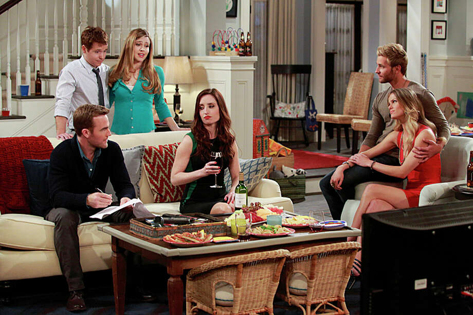 """Friends with Better Lives"" debuts on CBS at 8 p.m. on March 31st (before moving to its regular time at 7:30 on April 7th). Photo: Trae Patton, ©2013 CBS Broadcasting, Inc. All Rights Reserved / Ã?©2013 CBS Broadcasting, Inc. All Rights Reserved"