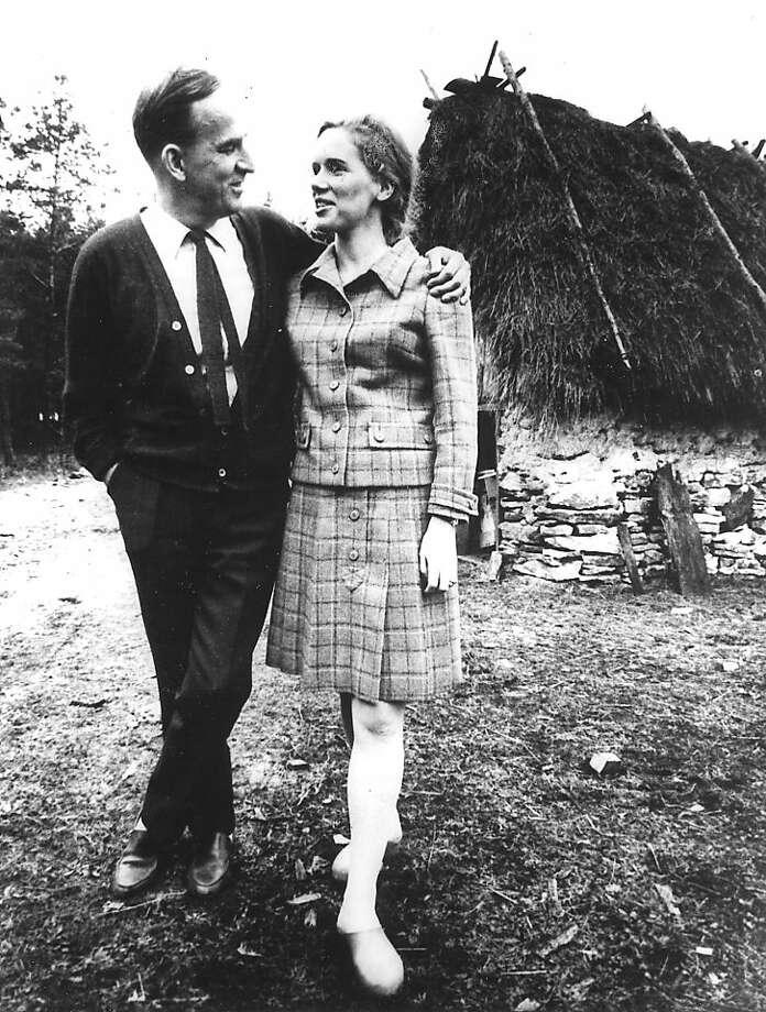 Ingmar Bergman (left) and Liv Ullmann were partners in films and an inscrutable relationship. Photo: Associated Press, ASSOCIATED PRESS