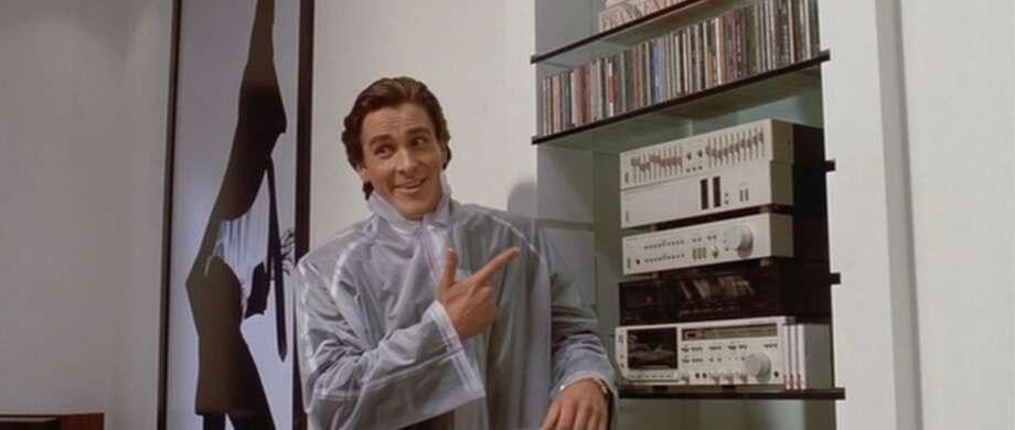 "Christian Bale stars as a homicidal yuppie with a love of music in ""American Psycho."" Photo: Universal"