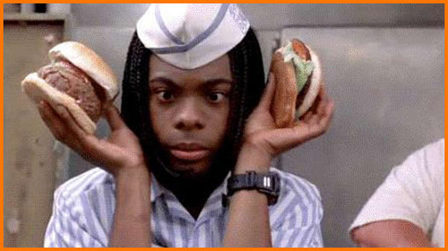 "Nickelodeon favorites Kel Mitchell and Kenan Thompson costar in the goofy family comedy ""Good Burger."""