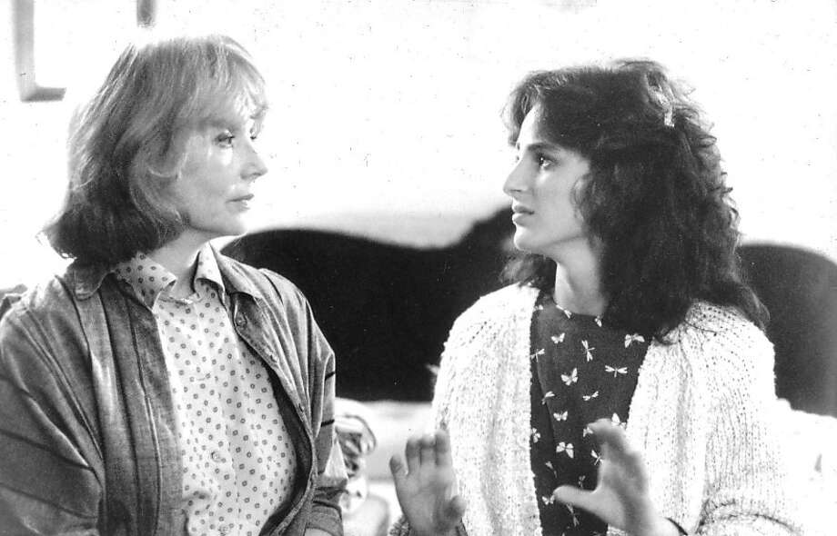 "Marlee Matlin (right) won an Oscar for her role as a deaf student who becomes the object of her teacher's affection in ""Children of a Lesser God."" Photo: Paramount Pictures 1986"