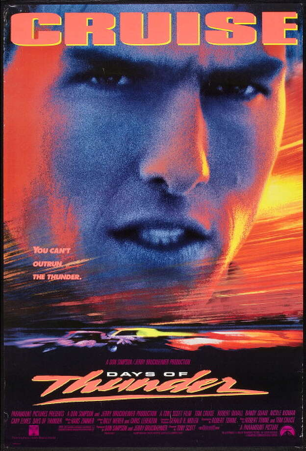 "Tom Cruise stars as a rookie NASCAR driver with a need for speed in ""Days of Thunder."" Photo: Buyenlarge, Getty Images / Moviepix"