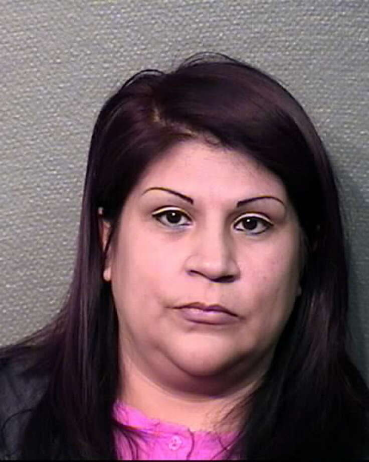 Teresa A. Gonzalez, 37, has been charged with theft in connection with allegations of altering her pay checks over a five-month period. Photo: Houston Police Department / ONLINE_YES
