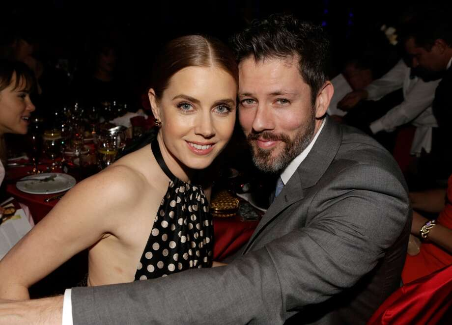 Actors Amy Adams (L) and Darren Le Gallo attend the 25th annual Palm Springs International Film Festival awards gala at Palm Springs Convention Center on January 4, 2014 in Palm Springs, California.  (Photo by Jeff Vespa/Getty Images for PSIFF) Photo: Jeff Vespa, Getty Images For PSIFF