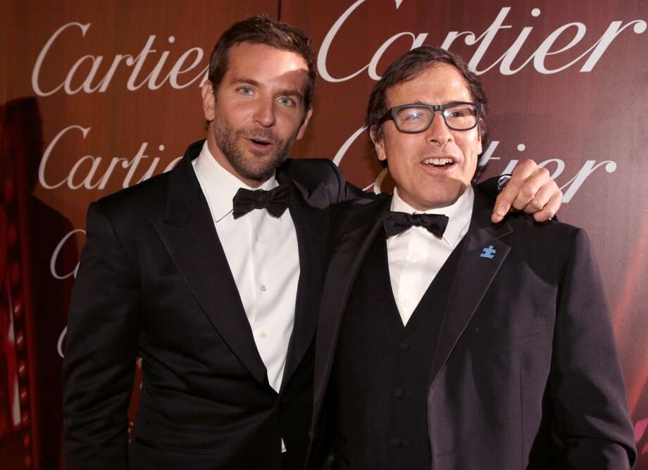 Actor Bradley Cooper (L) and director David O. Russell arrive at the 25th annual Palm Springs International Film Festival awards gala at Palm Springs Convention Center on January 4, 2014 in Palm Springs, California.  (Photo by Jeff Vespa/Getty Images for PSIFF) Photo: Jeff Vespa, Getty Images For PSIFF