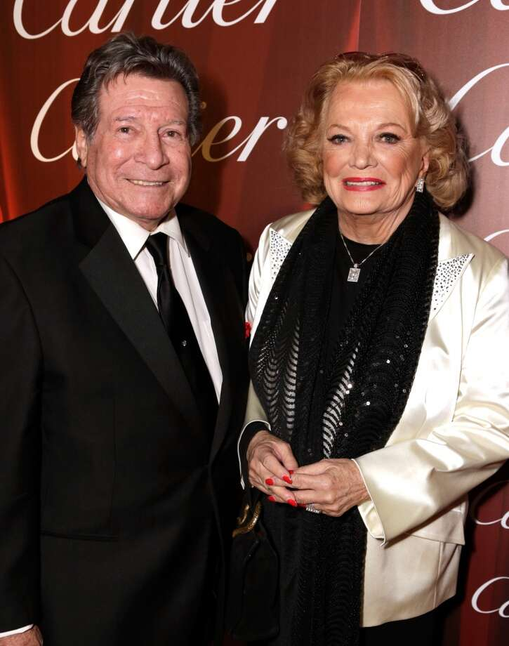 Actress Gena Rowland (R) and Robert Forrest arrive at the 25th annual Palm Springs International Film Festival awards gala at Palm Springs Convention Center on January 4, 2014 in Palm Springs, California.  (Photo by Jeff Vespa/Getty Images for PSIFF) Photo: Jeff Vespa