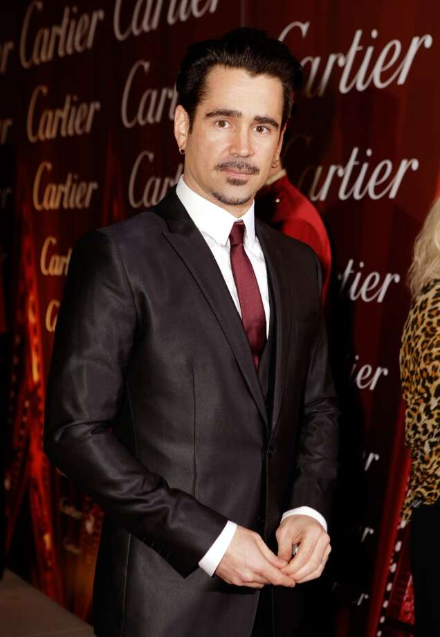 Actor Colin Farrell arrives at the 25th annual Palm Springs International Film Festival awards gala at Palm Springs Convention Center on January 4, 2014 in Palm Springs, California.  (Photo by Jeff Vespa/Getty Images for PSIFF) Photo: Jeff Vespa, Getty Images For PSIFF