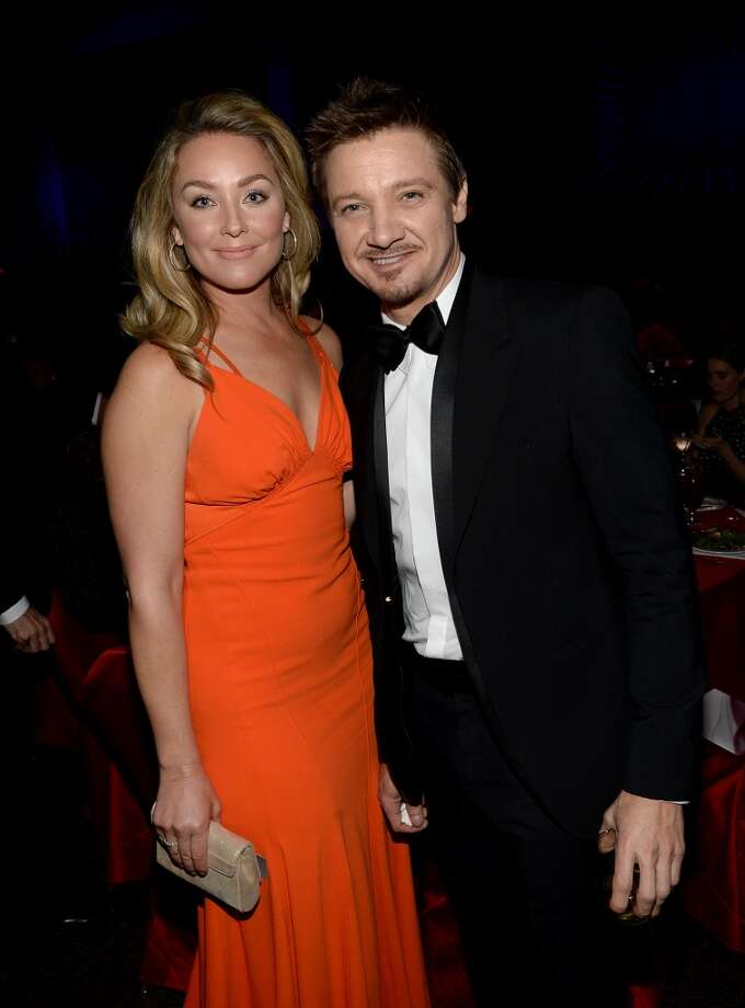 Actors Elisabeth Rohm and Jeremy Renner attend the 25th annual Palm Springs International Film Festival awards gala at Palm Springs Convention Center on January 4, 2014 in Palm Springs, California.  (Photo by Michael Buckner/Getty Images for PSIFF) Photo: Michael Buckner, Getty Images For PSIFF
