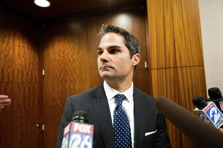 John Jordan Assistant District Attorney speaks to the media after the first court appearance of Matthew Sowders who is charged with capital murder at the Harris County Criminal Courthouse in Houston, Monday, Jan. 6, 2014, in Houston. Photo: Marie D. De Jesus, Houston Chronicle / © 2014 Houston Chronicle