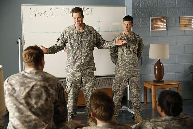 'Enlisted' was one of the three shows canceled by FOX at the same time in May.  Photo: Greg Gayne, FOX